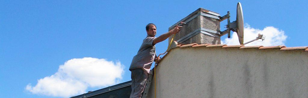 Nettoyage de toiture et façade