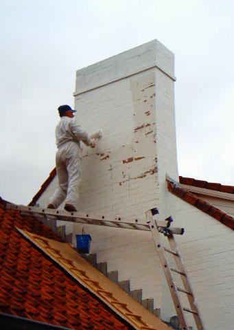 Peinture de toiture et de façade